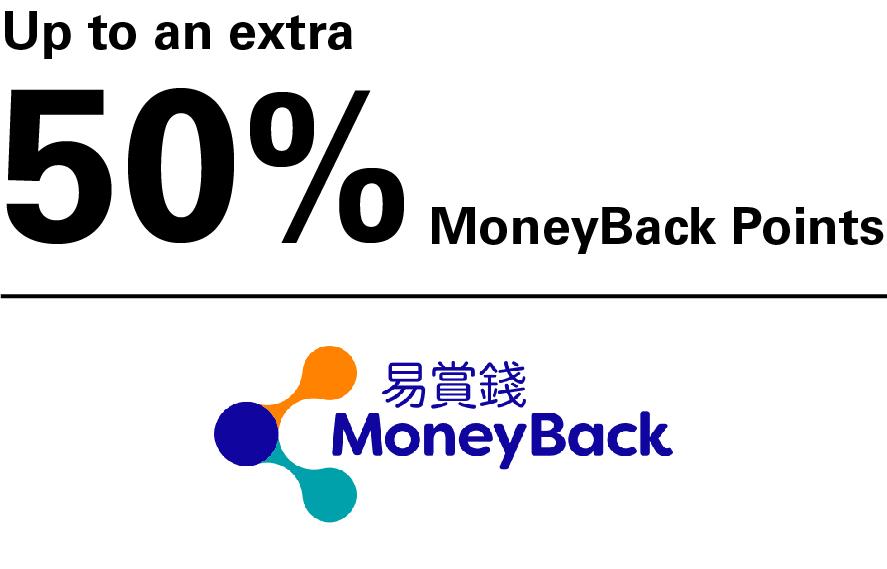 HSBC Reward+ App - Feature - Connect your MoneyBack App account